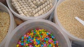 Complementos del helado Foto de archivo