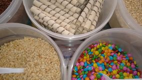 Complementos del helado Fotos de archivo libres de regalías