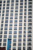 Complesso condominiale con Windows Fotografia Stock