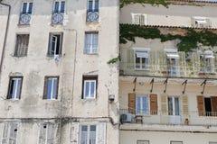 Complesso condominiale in Corsica, Francia Immagine Stock