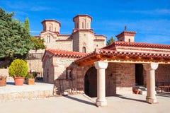 Complesso dei monasteri di Meteora, Grecia Fotografia Stock Libera da Diritti