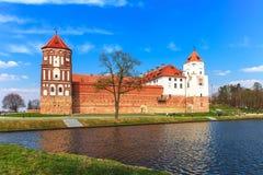 Complesso del castello del MIR Fotografia Stock Libera da Diritti