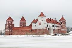 Complesso del castello di Mirsky Fotografia Stock