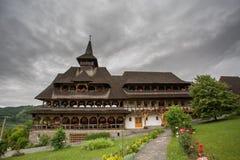 Complesso del monastero di Barsana Fotografia Stock