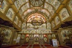 Complesso del monastero di Barsana Fotografia Stock Libera da Diritti