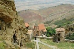 Complesso del monastero di David Gareja, Georgia Fotografia Stock