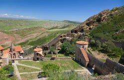 Complesso del monastero di David Gareja. Kakheti. Georgia. Immagini Stock Libere da Diritti