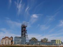 Complesso del museo nella miniera di carbone ristabilita Fotografia Stock Libera da Diritti