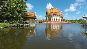 complesso del tempio del laem di plai sul samui del KOH archivi video