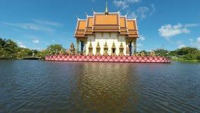 complesso del tempio del laem di plai sul samui del KOH video d archivio