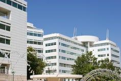 Complesso dell'edificio per uffici Immagini Stock