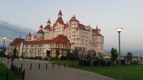 Complesso dell'hotel, Bogatyr, città di Soci immagini stock libere da diritti