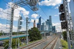 Complesso della città di Mosca, Russia Fotografia Stock
