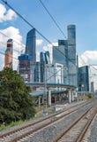 Complesso della città di Mosca, Russia Fotografie Stock Libere da Diritti