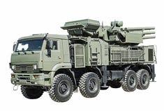 Complesso della missile-pistola della difesa aerea Fotografia Stock
