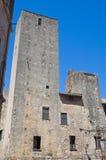 Complesso della st Spirito. Tarquinia. Il Lazio. L'Italia. Fotografia Stock Libera da Diritti