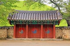 Complesso della tomba di Daereungwon, Corea del Sud immagine stock
