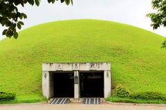 Complesso della tomba di Daereungwon, Corea del Sud fotografia stock