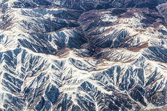 Complesso delle montagne Fotografia Stock