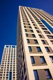Complesso di appartamento in un grattacielo moderno Fotografia Stock Libera da Diritti