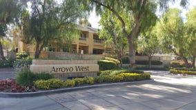 Complesso di condominio ad ovest di Arroyo immagine stock libera da diritti