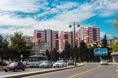 Complesso di costruzioni dell'appartamento Fotografie Stock Libere da Diritti