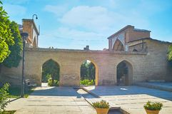 Complesso di Hafezieh, Shiraz, Iran immagini stock