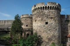 Complesso di Kapija del portone di Zindan, fortezza di Kalemegdan, Belgrado, Ser Immagine Stock