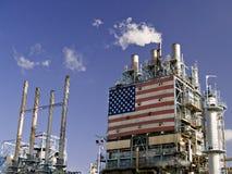 Complesso di raffineria Immagine Stock Libera da Diritti