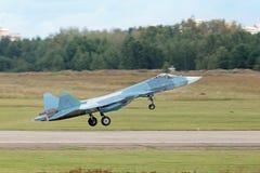 Complesso disperso nell'aria futuro di aviazione di linea di battaglia Immagini Stock Libere da Diritti