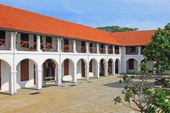 Complesso forte dell'alta corte del ` s di Galle - patrimonio mondiale dell'Unesco dello Sri Lanka Fotografia Stock
