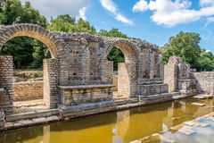 Complesso il santuario di Asclepio Fotografia Stock Libera da Diritti