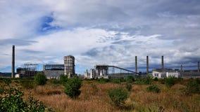 Complesso industriale Fotografie Stock
