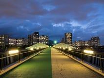 Complesso residenziale nel Giappone fotografia stock