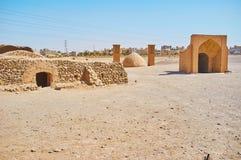 Complesso storico di sepoltura dello zoroastriano in Yazd, Iran Fotografia Stock Libera da Diritti