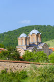 Complesso stupefacente del monastero della chiesa, Macedonia Immagine Stock Libera da Diritti