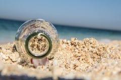 Completamente da areia imagem de stock
