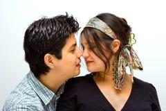 Completamente nell'amore! fotografie stock