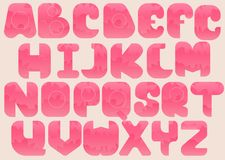 Complete Alphabet Royalty Free Stock Images