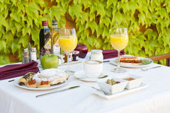 Complete breakfast Stock Images