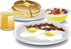 Complete Breakfast Stock Photos
