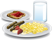 Complete Breakfast Stock Image