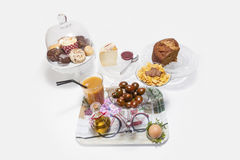 Complete brunch or breakfast Royalty Free Stock Images