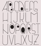 Complete English Alphabet Royalty Free Stock Image