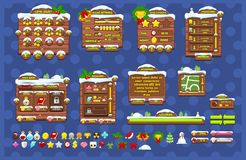 Complete Christmas Game GUI Pack