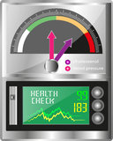 Complete Health Check Meter Royalty Free Stock Photos