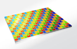 Complete Large Puzzle Royalty Free Stock Image