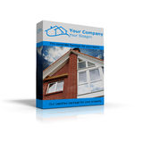 Complete package for homes. Illustration of an complete package for homes Stock Photos
