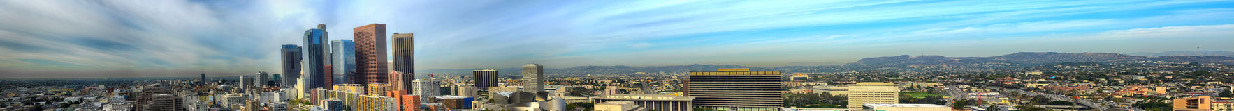 Free Complete Pano Of Los Angeles. Royalty Free Stock Images - 41133259