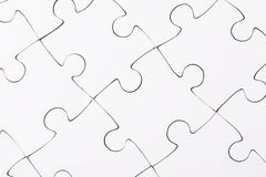 Complete puzzle Royalty Free Stock Photo